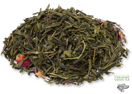 Handcrafted Pomegranate Green Tea